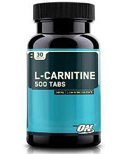 Optimum Nutrition L-Carnitine 500 Tabs (30 таблеток)