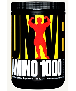 Universal Nutrition Amino 1000 (500 капсул)