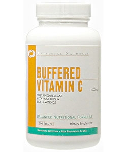 Universal Nutrition Vitamin C Buffered 1000 (100 таблеток)