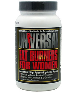 Universal Nutrition Fat Burners For Women (120 таблеток)