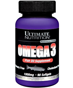 Ultimate Nutrition Omega3 softgels (90 капсул)
