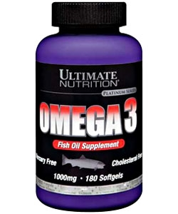 Ultimate Nutrition Omega3 softgels (180 капсул)