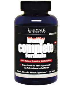 Ultimate Nutrition Daily Complete Formula (180 таблеток)