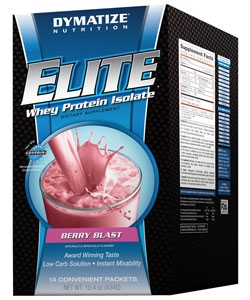 Dymatize Nutrition Elite Whey Protein Isolate (14 пак.)