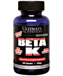 Ultimate Nutrition BETA K (200 капсул)