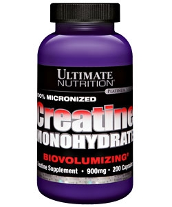 Ultimate Nutrition Creatine Monohydrate Caps (200 капсул)