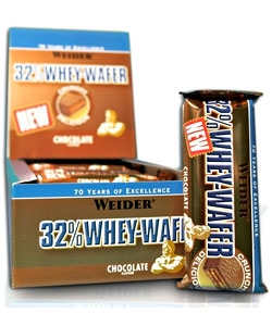 Weider 32% Whey Wafer Bar (24 батонч.)