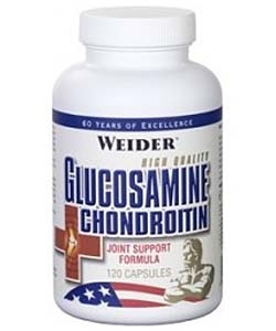 Weider Glucosamine & Chondroitin (120 капсул)
