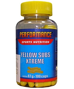 Performance Yellow Subs Xtreme (100 капсул)