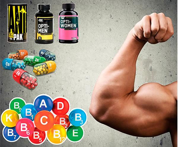 Какие витамины нужны для наращивания мышечной массы?